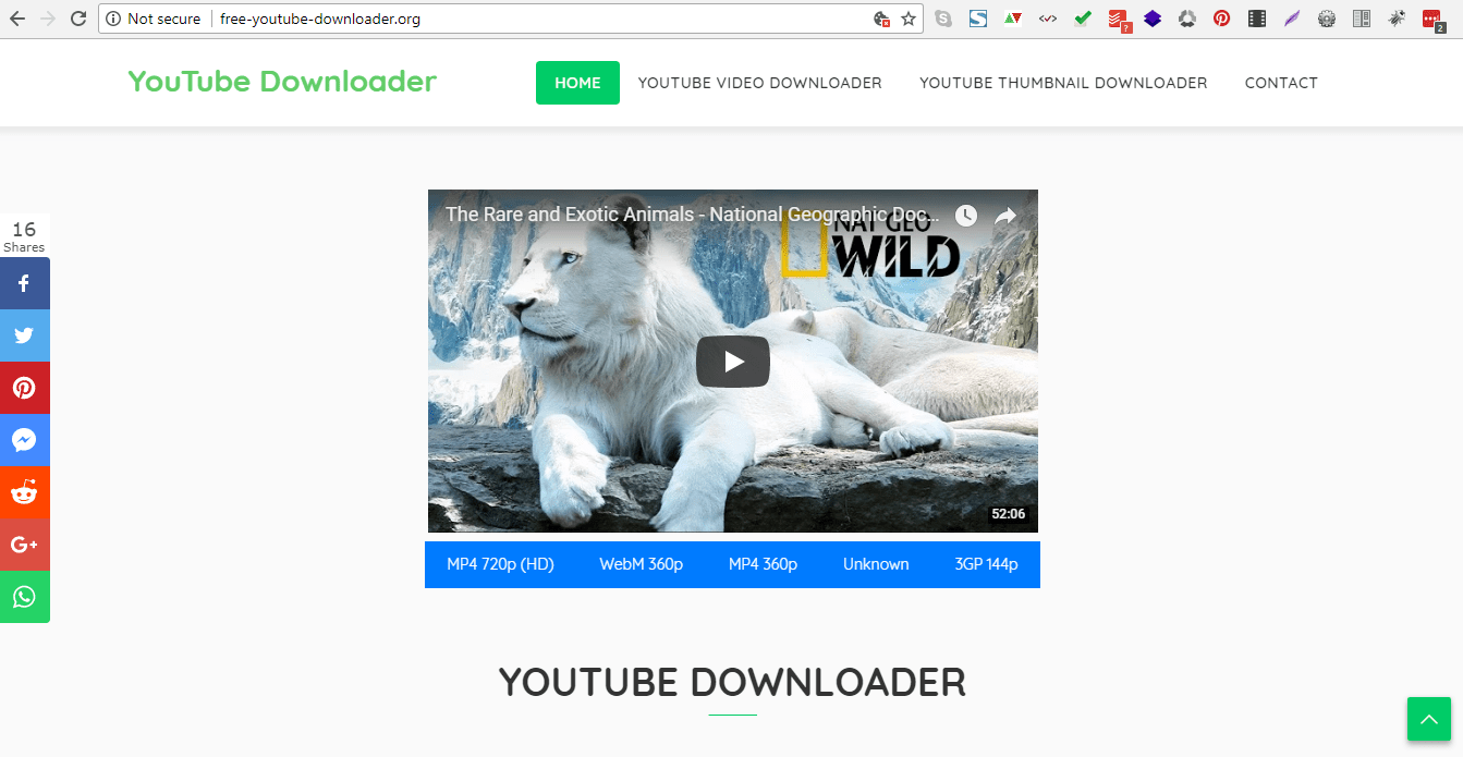 Youtube Downloader videos free